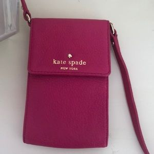 Kate Spade credit card and key carrier